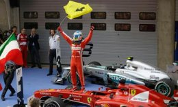 Awesome Alonso surges to victory in Shanghai