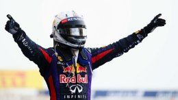 Serene Seb storms to victory in Sakhir